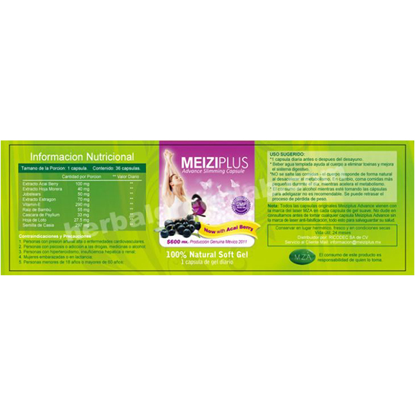 Meiziplus Advance Slimming Capsules